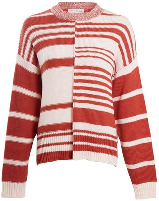 NATIVE YOUTH Striped Anastasia Knitted Jumper - XS .
