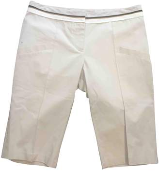 Barbara Bui Beige Cotton - elasthane Shorts for Women