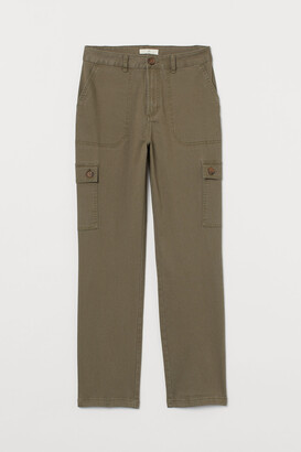 H&M Ankle-length cargo trousers