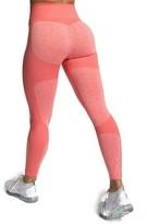 Yaavii Women High Waist Seamless Yoga Pants Stretch Running Gym Workout Yoga Leggings