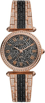 Fossil Women's Limited Edition Lyric Three-Hand Two-Tone Stainless Steel Watch, 32mm