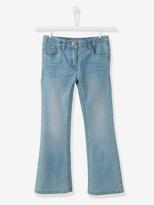 Vertbaudet Girls NARROW Waist Bootcut Jeans