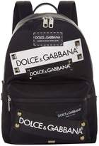 Dolce & Gabbana Logo Backpack, White