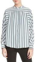 Maje Coquille Stripe Blouse
