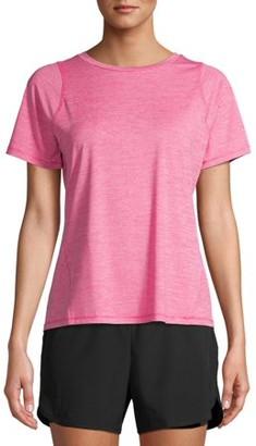 Athletic Works Women's Active Performance Short Sleeve Crewneck T-Shirt