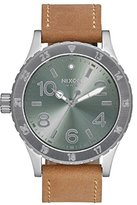 Nixon Women's A4672217-00 38-20 Leather Analog Display Japanese Quartz Brown Watch