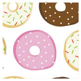 Minted Donut Open 'Til Christmas Wrapping Paper
