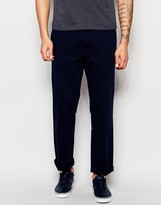 Polo Ralph Lauren Chinos In Loose Fit Navy
