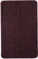 Joe Fresh Women's Knit Pattern Tights, Burgundy (Size B)