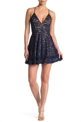 Love, Nickie Lew Lace Back Dress