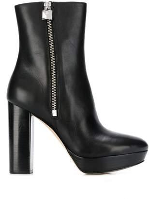 MICHAEL Michael Kors side-zip ankle boots
