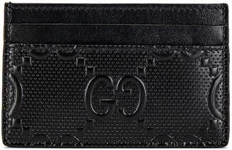 Gucci GG Tennis Cardholder in Black | FWRD