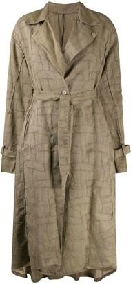 Masnada Belted Coat