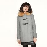 Maje Wool A-line coat