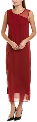 Hone Year Silk-Blend Maxi Dress