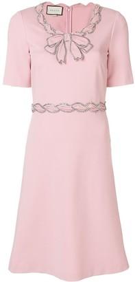 Gucci Crystal Embellished Dress
