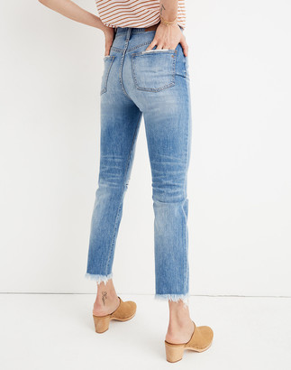Madewell The Petite Perfect Vintage Jean in Parnell Wash: Comfort Stretch Edition