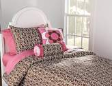 Bacati Damask Pink/Chocolate Twin Comforter