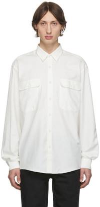 Schnaydermans White Boxy Shirt