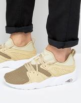 Puma Blaze Of Glory Soft Tech Sneakers In Beige 36412804
