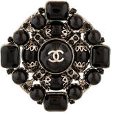 Chanel Gripoix CC Brooch