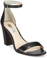 INC International Concepts Kivah Block Heel Dress Sandals, Only at Macy's
