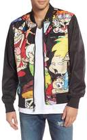 Members Only Nickelodeon Reversible Bomber Jacket