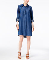 Style&Co. Style & Co Denim Shirtdress, Only at Macy's