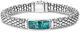 Lagos Sterling Silver Maya Escape Chrysocolla Doublet Rope Bracelet