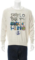 Love Moschino Graphic Print Sweater