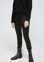 Ann Demeulemeester palmer black satin legging