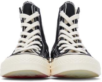 Converse Black 'Love' Chuck 70 High Sneakers