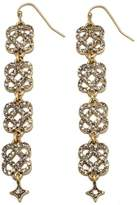 "RJ Graziano Live for Lux"" Knot Drop Pavé Earrings"