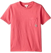 Paul Smith Short Sleeve Fuchsia Tee with Pocket Girl's T Shirt
