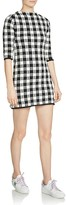 Maje Rimia Gingham Mini Dress
