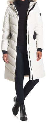 Noize Capri Faux Fur Hooded Quilted Parka