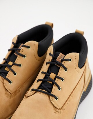 Timberland cross mark chukka boots in tan