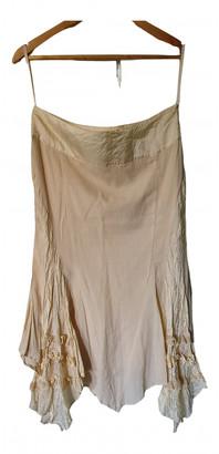 John Rocha Ecru Silk Skirts