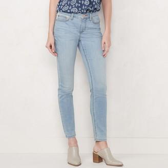 Lauren Conrad Women's Feel Good Mid-Rise 5 Pocket Skinny Jeans