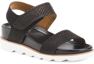 Nubuck Leather Ankle Strap Sport Sandals