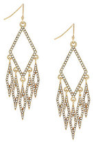 Jessica Simpson Dancing in the Moonlight Pave Chandelier Earrings