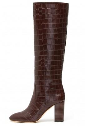Loeffler Randall Goldy Tall Boot in Dark Brown
