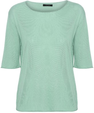 Oh Simple - Mint Silk Cashmere Knit - s