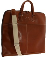 Mulholland Brothers - Simple Garment Bag - Leather (Bridle Tan Leather) - Bags and Luggage