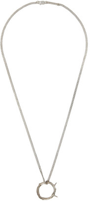 Pearls Before Swine Silver Core Thorn Necklace