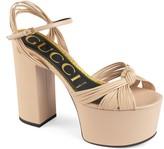 Gucci Crawford Strappy Platform Sandal