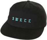 Swell Twisted Strapback Cap Black