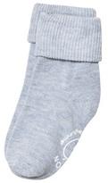 Melton 1-pack Baby Melange Socks Aqua