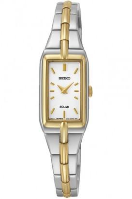 Seiko Ladies Dress Solar Solar Powered Watch SUP272P9
