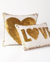 Jonathan Adler White Heart Pillow